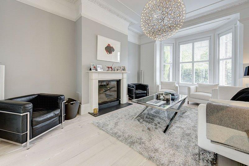 5 Bedrooms Semi Detached House for sale in Ornan Road, Belsize Park, London, NW3