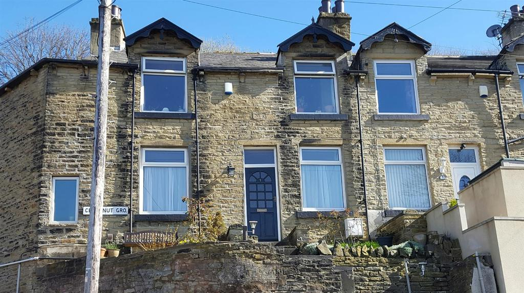 3 Bedrooms End Of Terrace House for sale in Chestnut Grove, Bolton Woods, Bradford, BD2 1BP