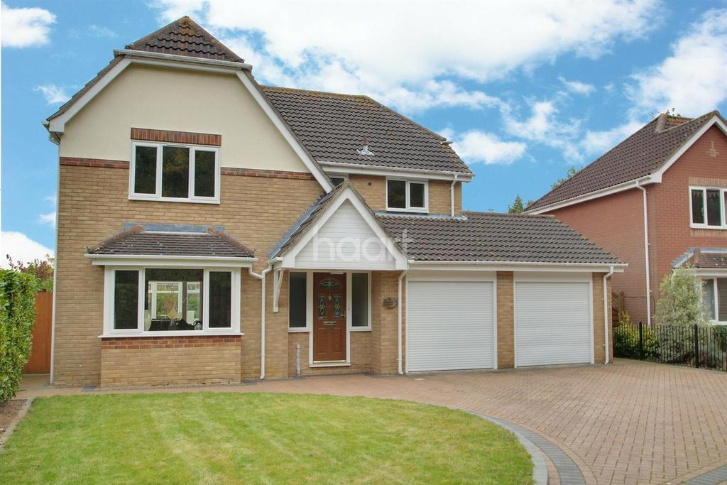 4 Bedrooms Detached House for sale in Gibbon Close