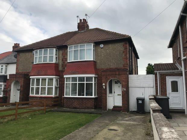 3 Bedrooms Semi Detached House for sale in POWLETT ROAD, HARTLEPOOL, HARTLEPOOL