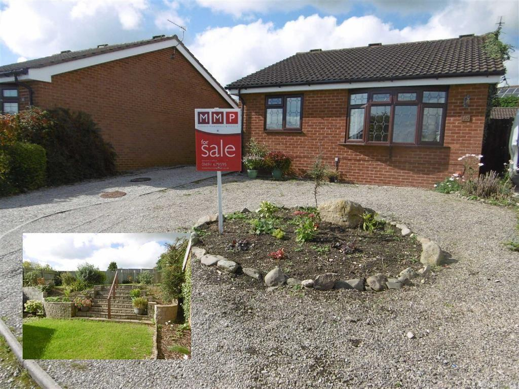 2 Bedrooms Detached Bungalow for sale in 14, Roundwood Close, Oswestry, Shropshire, SY11