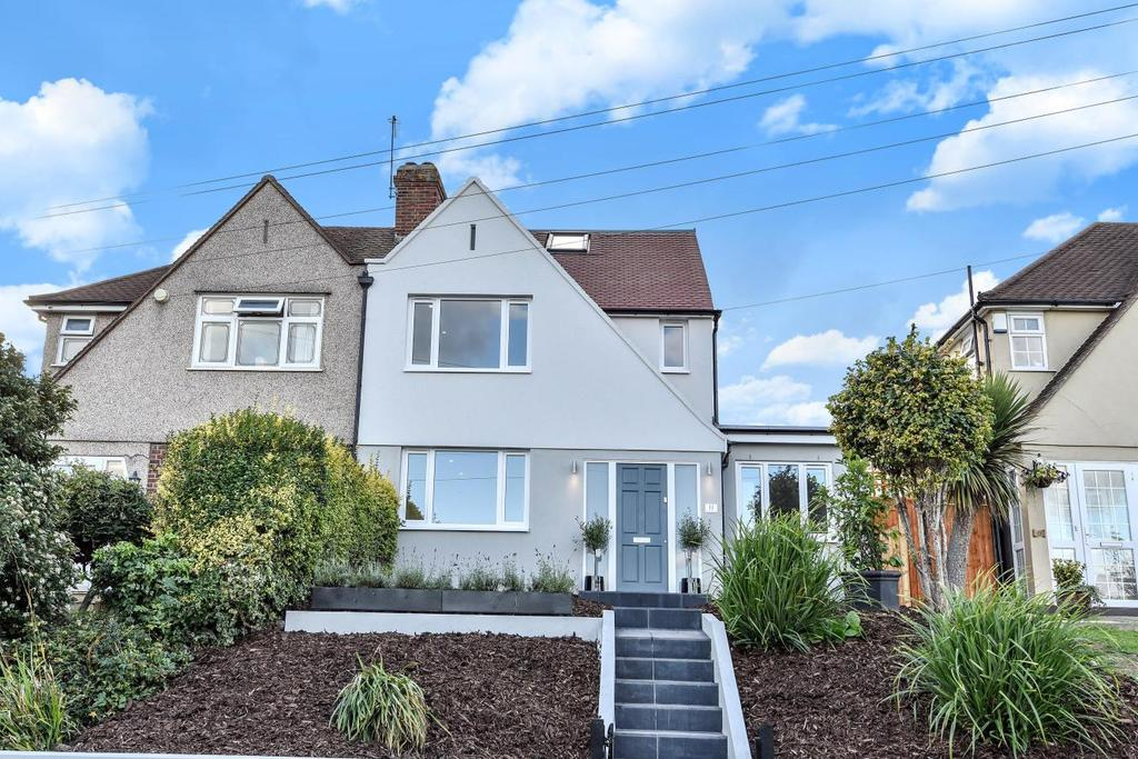 4 Bedrooms Semi Detached House for sale in Haddington Road, Bromley