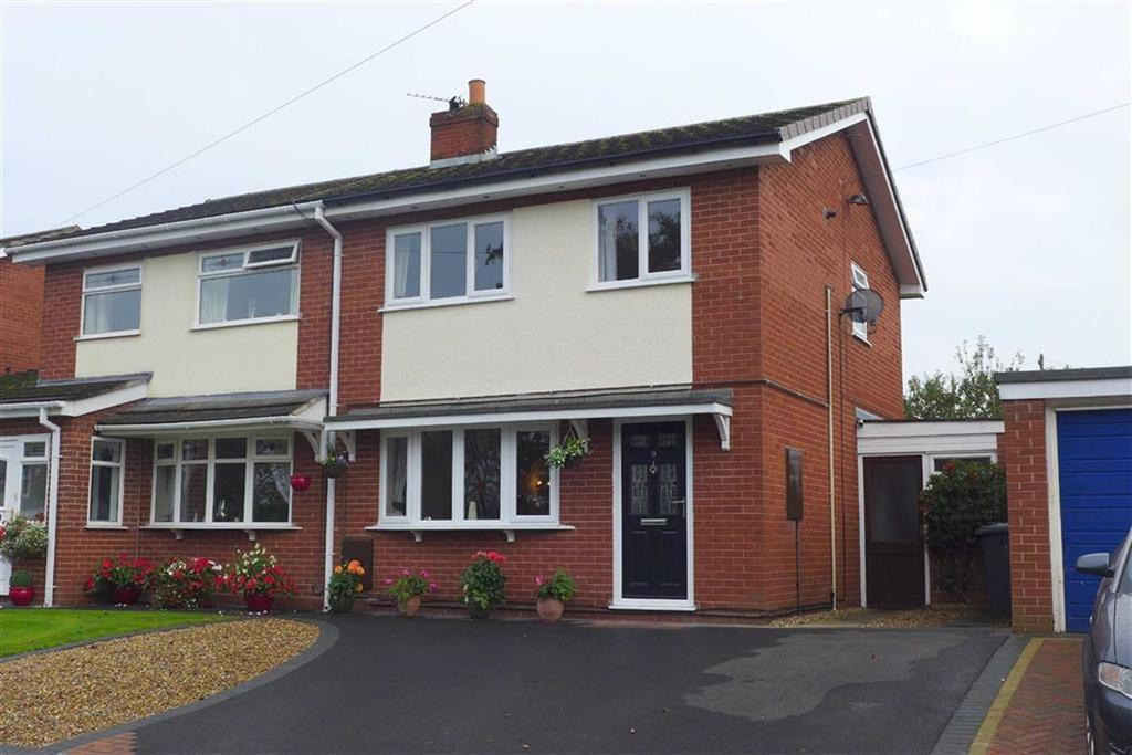 3 Bedrooms Semi Detached House for sale in Shelburne Drive, Haslington, Crewe