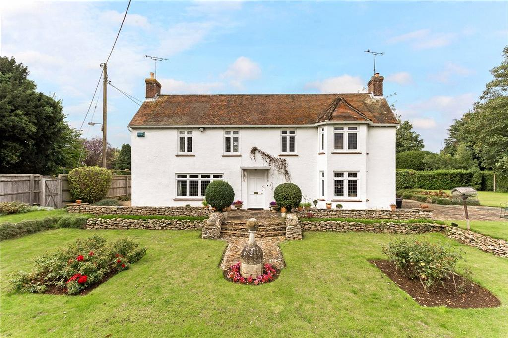 4 Bedrooms Detached House for sale in Faringdon Road, Shrivenham, Swindon, SN6