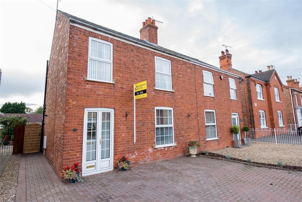 2 Bedrooms Semi Detached House for sale in Willington Road, Kirton, Boston, Lincolnshire