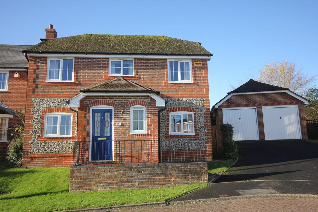 4 Bedrooms Detached House for sale in GIBBS CLOSE, BISHOPDOWN FARM, SALISBURY, WILTSHIRE, SP1 3WB