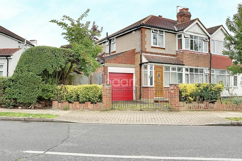 3 Bedrooms Semi Detached House for sale in Morley Crescent West, Stanmore, HA7