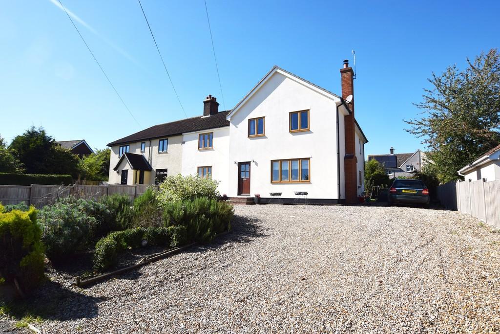 5 Bedrooms Semi Detached House for sale in Water Lane, Little Horkesley, CO6 4DE