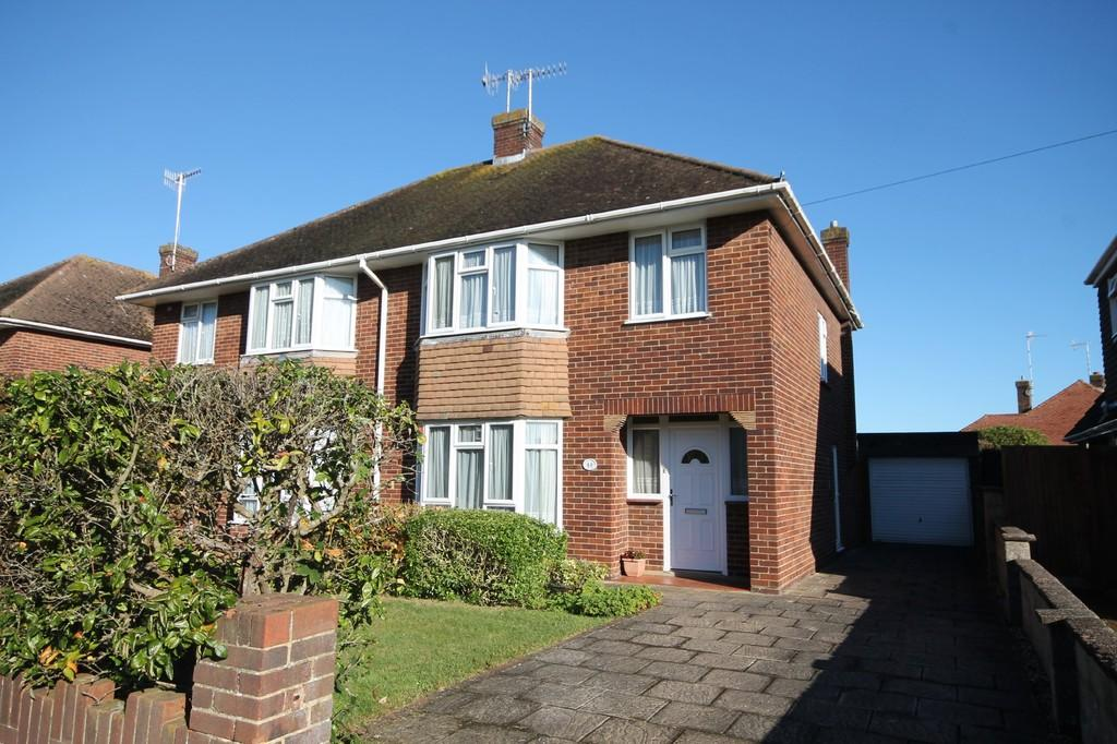 3 Bedrooms Semi Detached House for sale in Nelson Road, Goring-by-sea, Worthing BN12 6EN