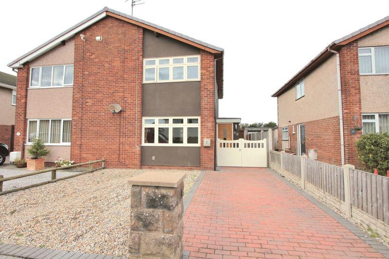 3 Bedrooms Semi Detached House for sale in Grosvenor Road, Prestatyn