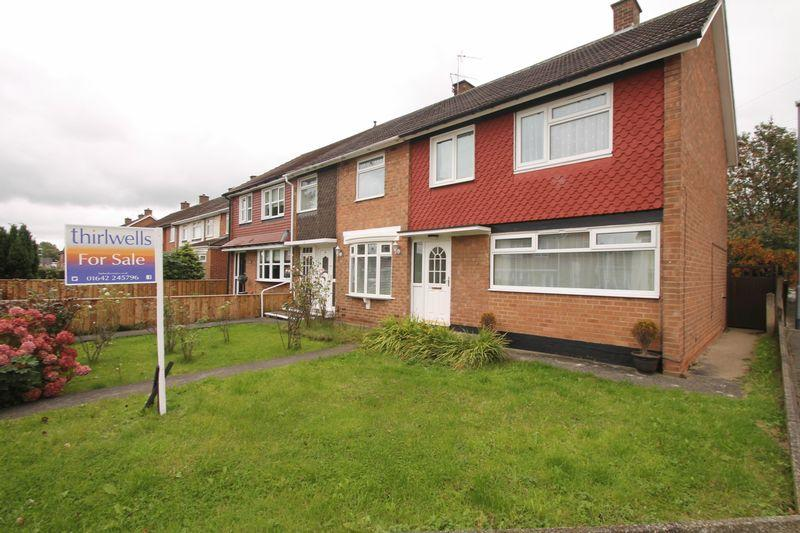 3 Bedrooms Semi Detached House for sale in Oswestry Green, Middlesbrough