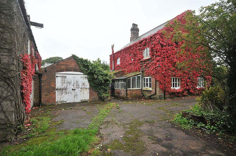 4 Bedrooms Detached House for sale in Period House and attached barns requiring re-development - Well Lane, Antrobus