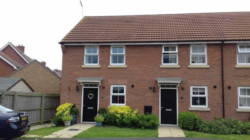 2 Bedrooms Town House for sale in Hunters Road, Fernwood, Newark
