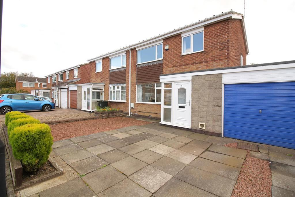 3 Bedrooms House for sale in Mayfield Place, Wideopen, Newcastle Upon Tyne