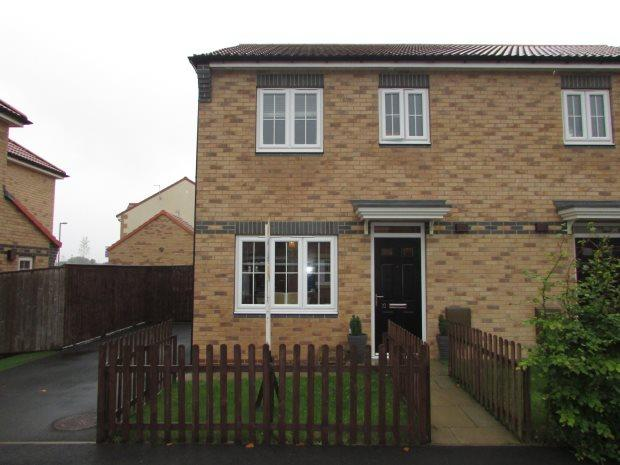 3 Bedrooms Semi Detached House for sale in ABBEY GREEN, SPENNYMOOR, SPENNYMOOR DISTRICT