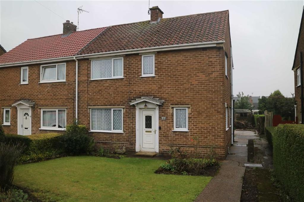 3 Bedrooms Semi Detached House for sale in Cowpes Close, Sutton In Ashfield, Notts, NG17