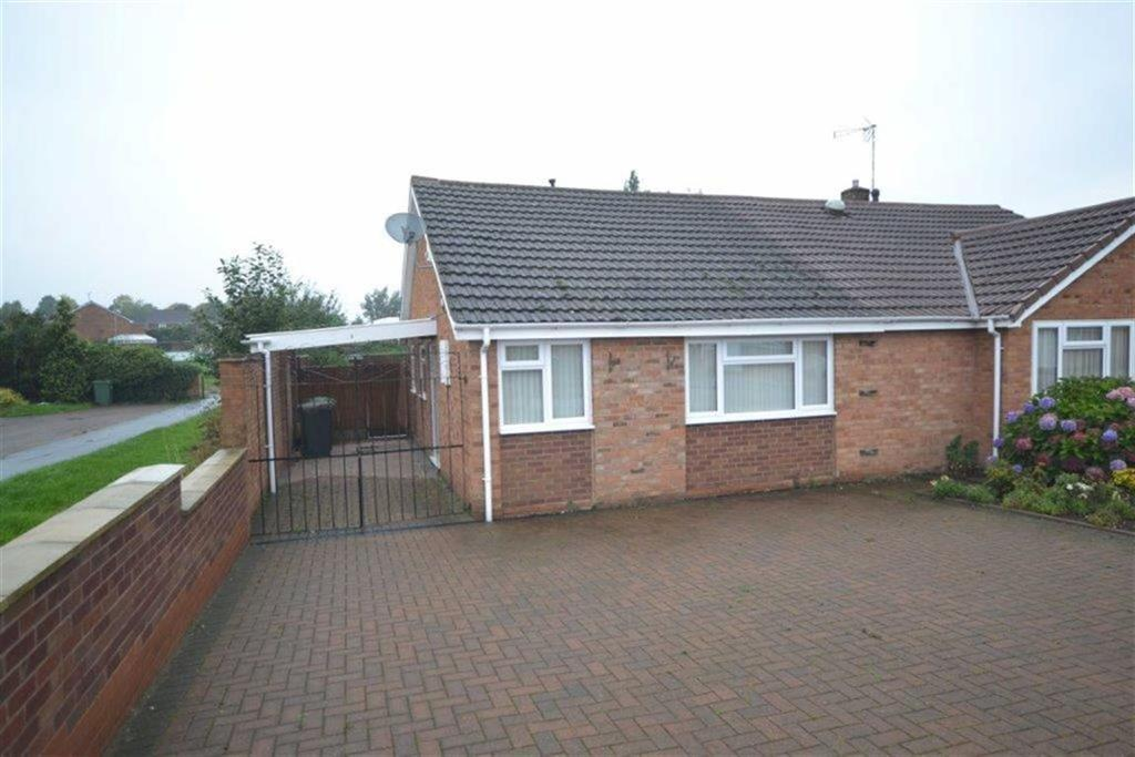 2 Bedrooms Semi Detached Bungalow for sale in Fair Isle Drive, Glendale, Nuneaton