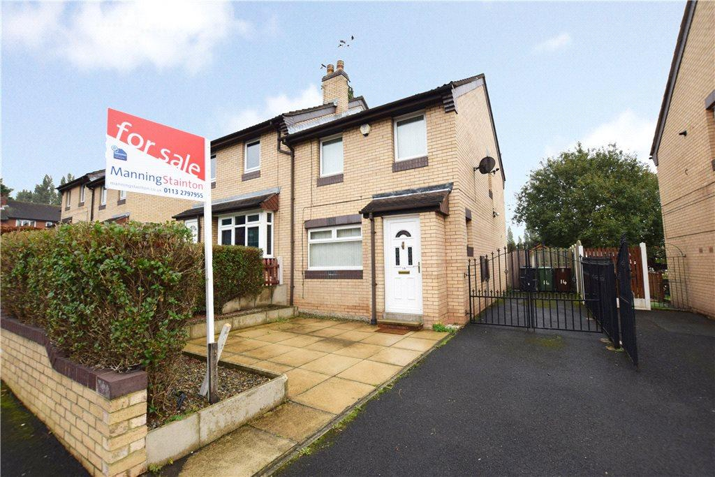 2 Bedrooms Semi Detached House for sale in Fearnley Close, Leeds, West Yorkshire