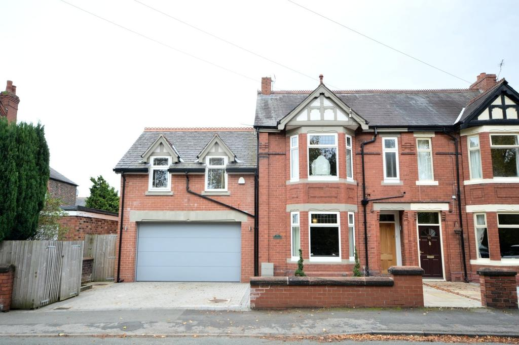5 Bedrooms Semi Detached House for sale in Fairfield Road, Stockton Heath, Warrington
