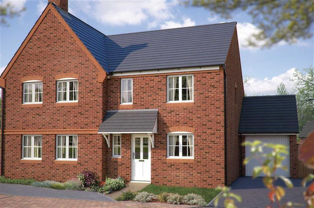 3 Bedrooms Semi Detached House for sale in Bowbrook Meadows, Shrewsbury
