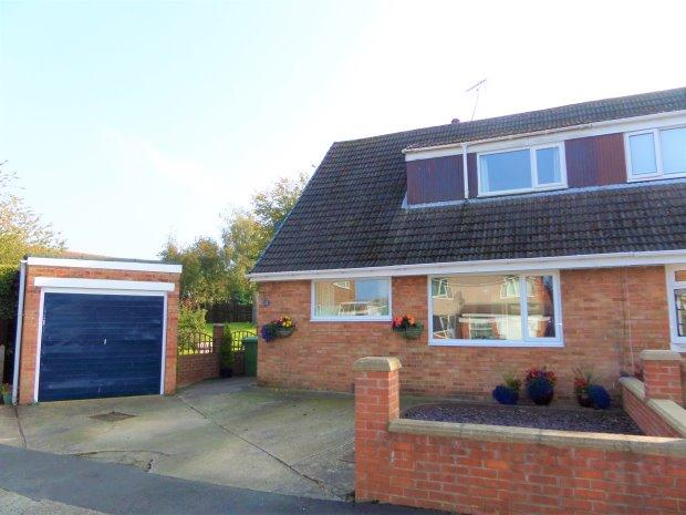 3 Bedrooms Semi Detached House for sale in WHITEHOUSE DRIVE, SEDGEFIELD, SEDGEFIELD DISTRICT
