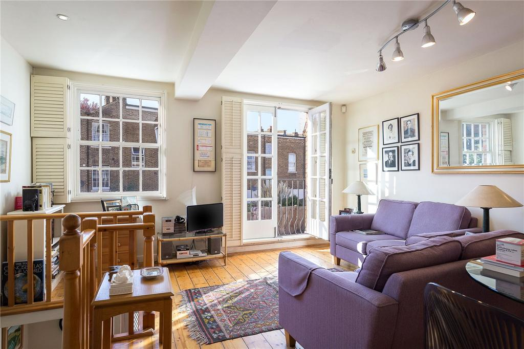 1 Bedroom Mews House for sale in Royal Crescent Mews, London, W11