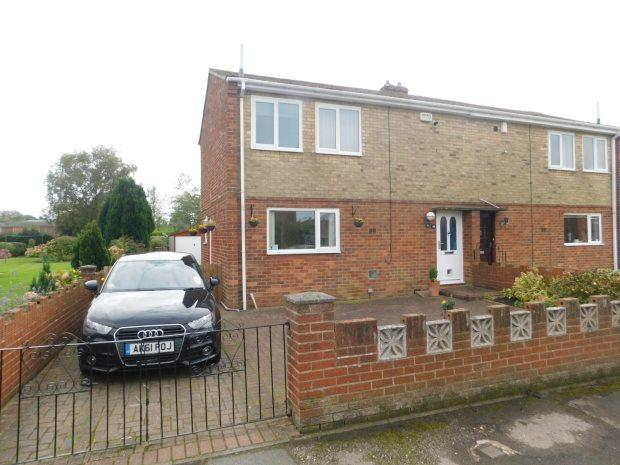 2 Bedrooms Semi Detached House for sale in FORSTER AVENUE, SHERBURN VILLAGE, DURHAM CITY : VILLAGES EAST OF