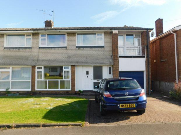 5 Bedrooms Semi Detached House for sale in YORK CRESCENT, NEWTON HALL, DURHAM CITY
