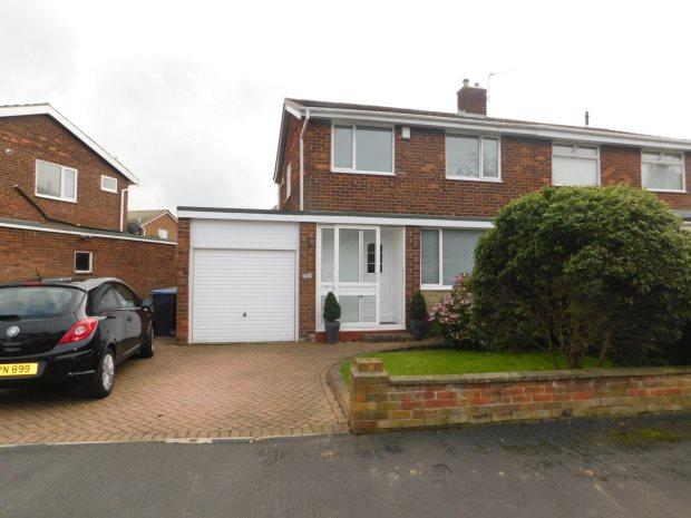 3 Bedrooms Semi Detached House for sale in ROWAN TREE AVENUE, GILESGATE, DURHAM CITY