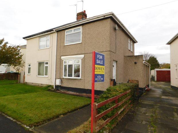 2 Bedrooms Semi Detached House for sale in PARK AVENUE, COXHOE, DURHAM CITY : VILLAGES EAST OF