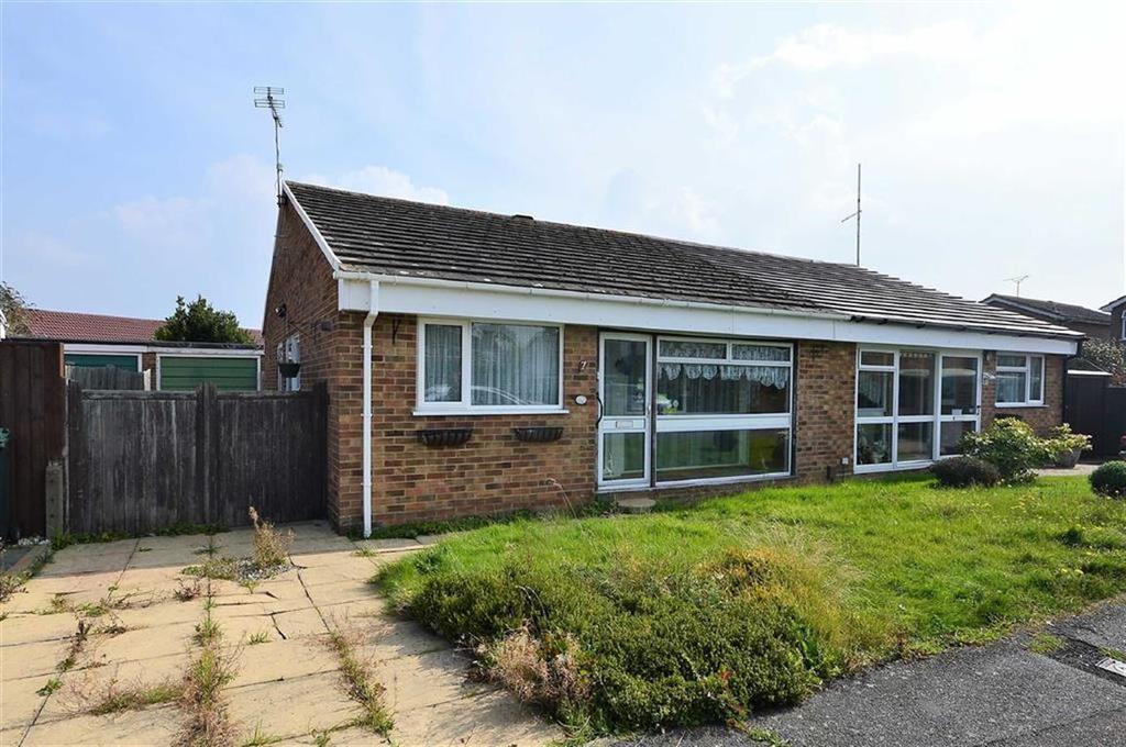2 Bedrooms Semi Detached Bungalow for sale in Bracken Close, Kennington, Ashford