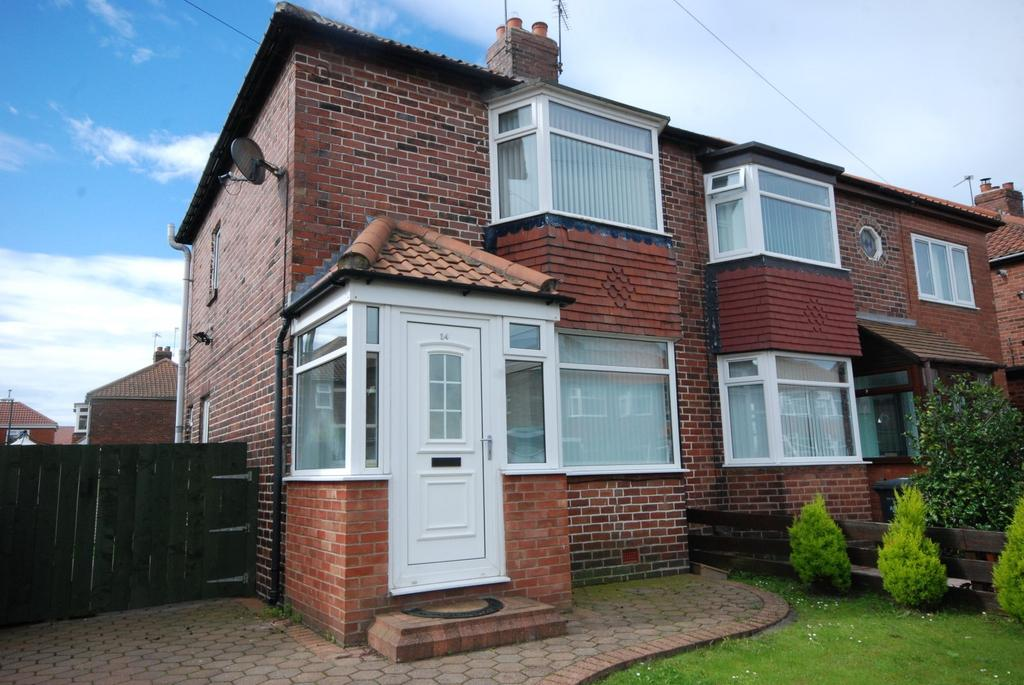 2 Bedrooms Semi Detached House for sale in Blue House Road, Hebburn