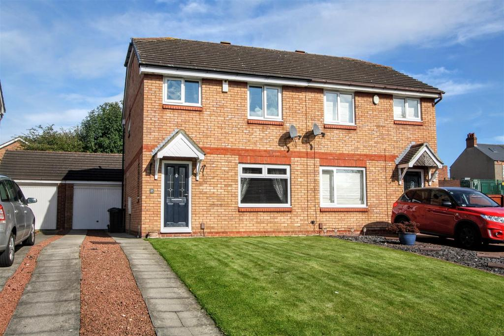 3 Bedrooms Semi Detached House for sale in Cheviot Court, Darlington