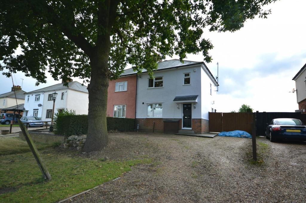 2 Bedrooms Semi Detached House for sale in The Green, Witham Road South, White Notley, Witham, Essex, CM8