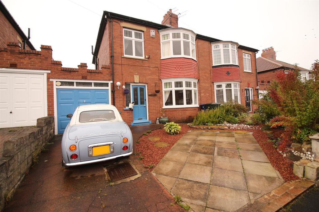 3 Bedrooms Semi Detached House for sale in Turbinia Gardens, Newcastle Upon Tyne