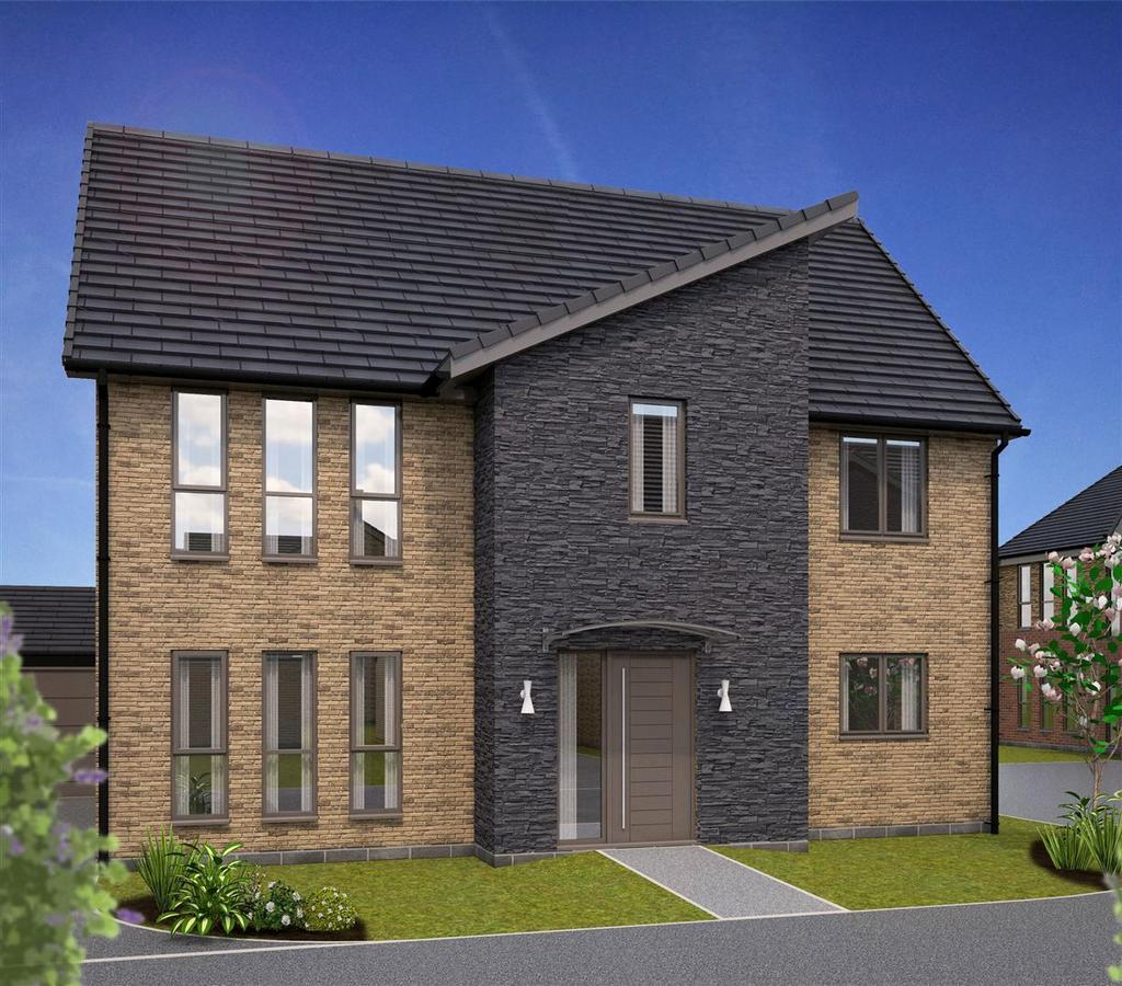 4 Bedrooms Detached House for sale in Plot 55 'Burlington', Rockcliffe Grange, Nottingham Road, Mansfield