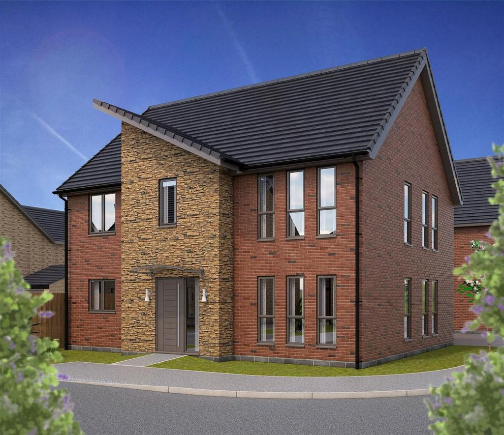 4 Bedrooms Detached House for sale in Plot 61 'Windsor', Rockcliffe Grange, Nottingham Road, Mansfield