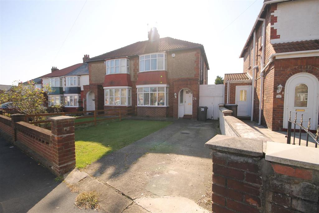 3 Bedrooms Semi Detached House for sale in Powlett Road, Hartlepool