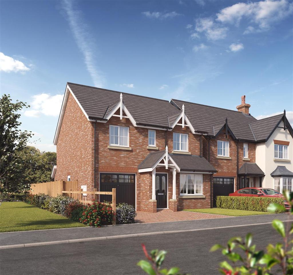 4 Bedrooms Detached House for sale in Plot 13, Kendale, Kings Vale, Baschurch, SY4 2DP