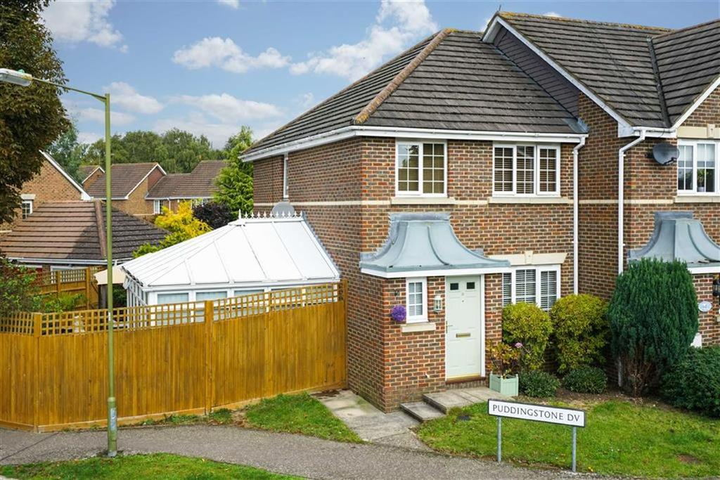 3 Bedrooms End Of Terrace House for sale in Puddingstone Drive, St Albans, Hertfordshire