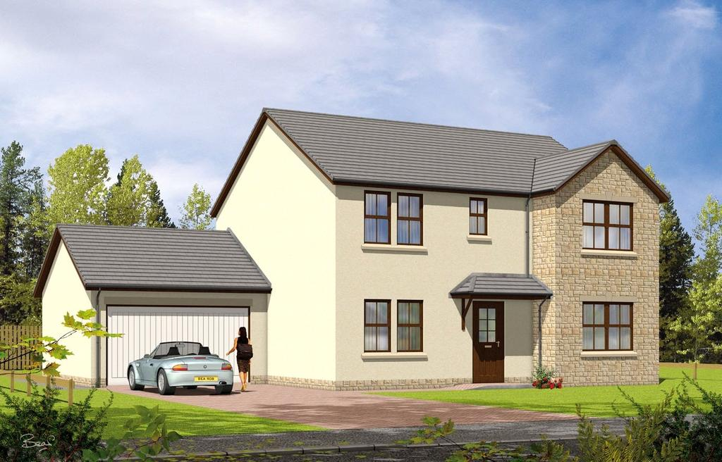 4 Bedrooms Detached House for sale in The Inverary Plot 9, Moulin View, Finlay Terrace, Pitlochry, PH16