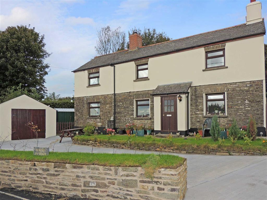 4 Bedrooms Detached House for sale in Benton Road, Bratton Fleming, Barnstaple, Devon, EX32