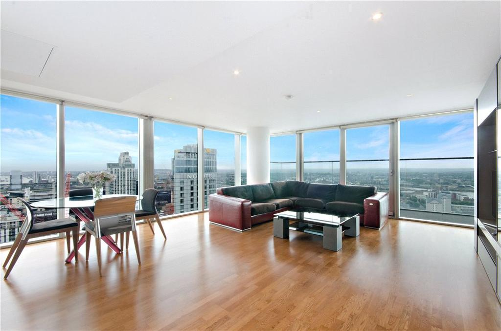 3 Bedrooms Flat for sale in Landmark East Tower, 24 Marsh Wall, Isle Of Dogs, London, E14