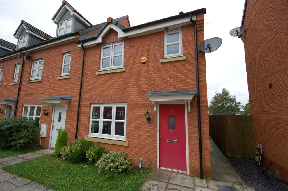 3 Bedrooms End Of Terrace House for sale in Waymark Gardens, Sutton Manor, St Helens, Merseyside