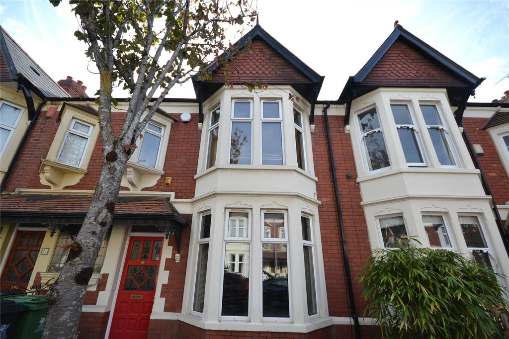 3 Bedrooms Terraced House for sale in Stallcourt Avenue, Penylan, Cardiff, CF23