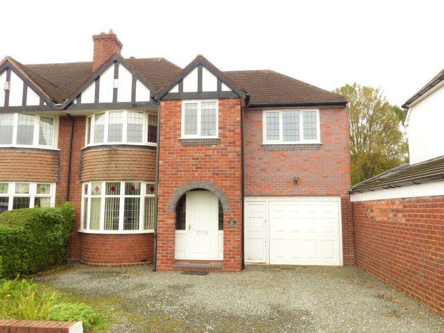 4 Bedrooms Semi Detached House for sale in Walsall Road,Aldridge,Walsall