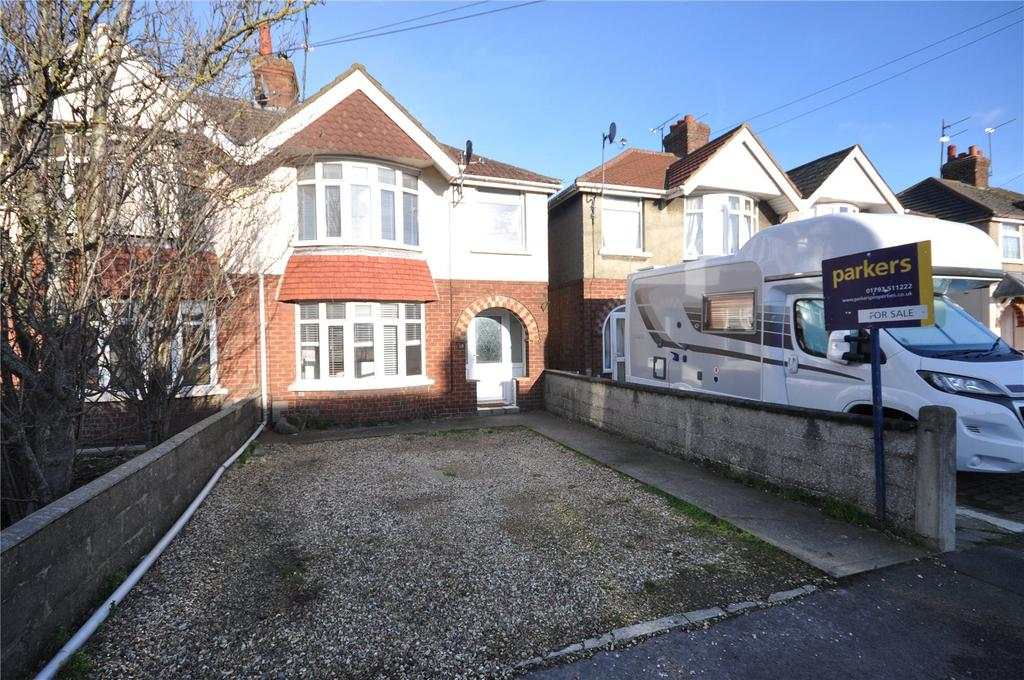 3 Bedrooms Semi Detached House for sale in Surrey Road, Swindon, Wiltshire, SN2
