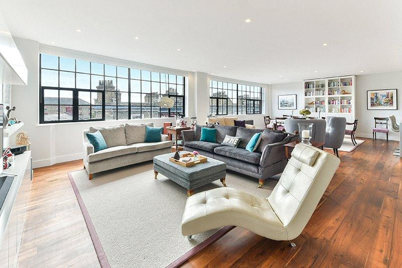 2 Bedrooms Penthouse Flat for sale in Chimney Court, 23 Brewhouse Lane, London, E1W