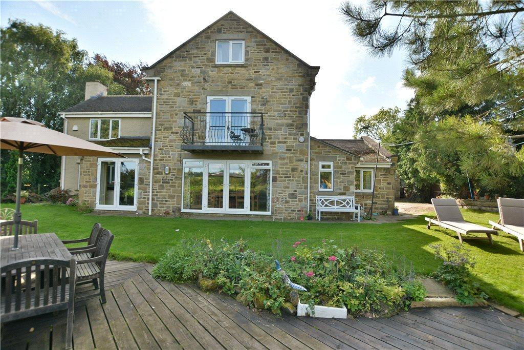 6 Bedrooms Detached House for sale in Peeps, Harewood Road, Collingham, Wetherby, West Yorkshire