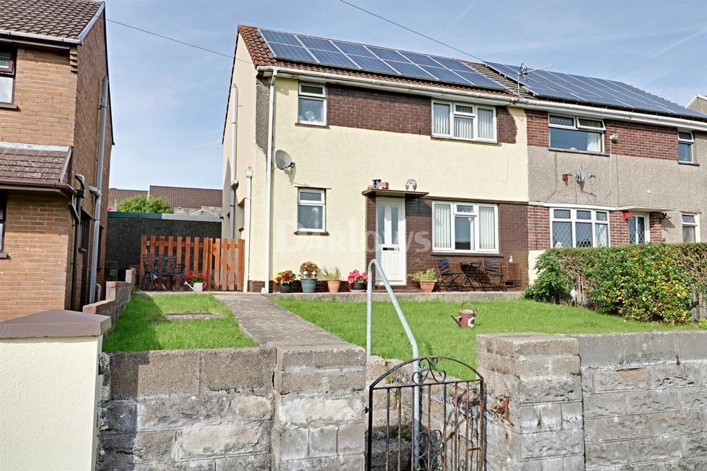 3 Bedrooms Semi Detached House for sale in Winslade Avenue, Tonyrefail